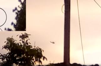 ΒΙΝΤΕΟ: Συνεχείς περιπολίες και στον βόρειο Έβρο, το ελληνικό στρατιωτικό ελικόπτερο
