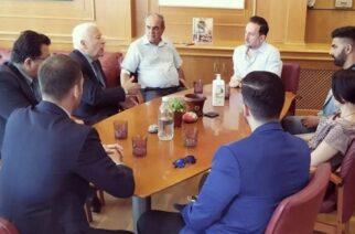 Αλεξανδρούπολη: Συνάντηση δημάρχου Γιάννη Ζαμπούκη με τον Περιφερειάρχη Βορείου Αιγαίου για τουριστική συνεργασία