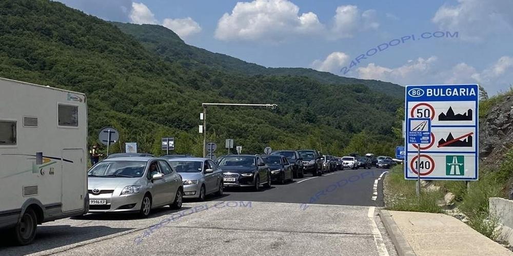 Ουρές χθες στα ελληνοβουλγαρικά σύνορα Έβρου και Ροδόπης, πρώτη μέρα ανοίγματος τους