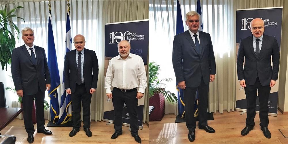 Για τουριστικά και εμπορικά θέματα συζήτησε με τον Πρόξενο της Ουκρανίας ο Περιφερειάρχης Χρήστος Μέτιος