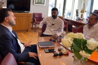 Αλεξανδρούπολη: Συνάντηση-συνεργασία του δημάρχου Γιάννη Ζαμπούκη με τονΑντιπεριφερειάρχη Τουρισμού ΑΜΘ Θανάση Τσώνη