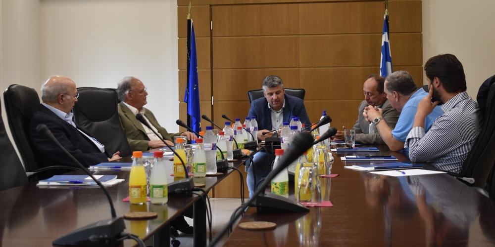 Επίσκεψη εκπροσώπων του Διεθνούς Εμπορικού Επιμελητηρίου στο Επιμελητήριο Έβρου