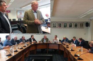 """Π.Δούκας (Πρόεδρος Διεθνούς Εμπορικού Επιμελητηρίου-δήμαρχος Σπάρτης): Οι Εβρίτες είσαστε οι """"διάδοχοι""""του… Μολών Λαβέ (ΒΙΝΤΕΟ)"""