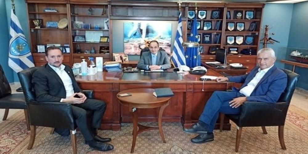 Αλεξανδρούπολη: Νέο, σύγχρονο Λιμενικό Μέγαρο, ζήτησε ο δήμαρχος Γιάννης Ζαμπούκης από τον υπουργό Γιάννη Πλακιωτάκη