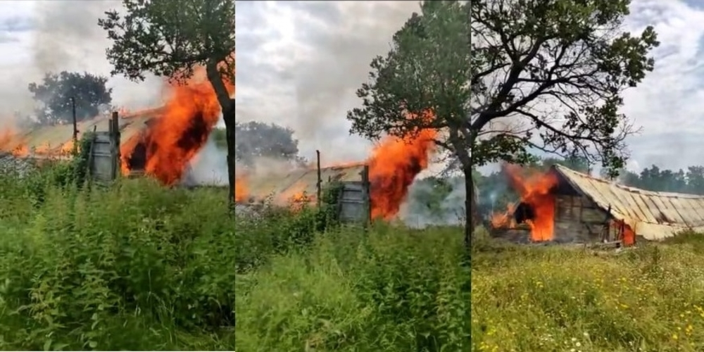 Σουφλί: Πυρκαγιά κατέστρεψε ολοσχερώς ποιμνιοστάσιο στο χωριό Σιδηρώ (ΒΙΝΤΕΟ+φωτό)