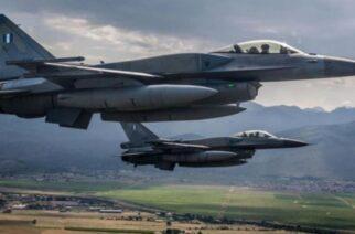 Ελληνικά και μετείχαν σε άσκηση, ήταν τα τρία πολεμικά αεροσκάφη που πέταξαν στον Έβρο