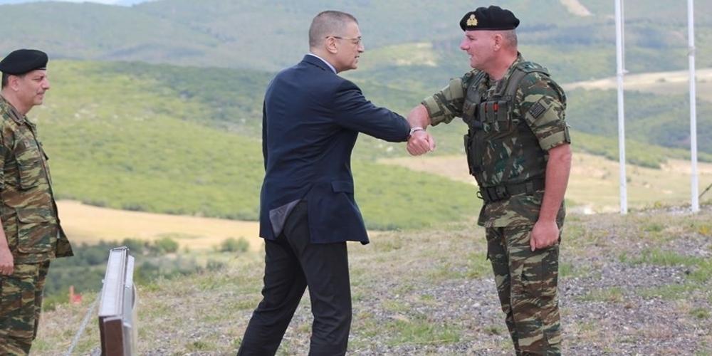 Επίσκεψη και επιθεώρηση στον Έβρο, έκανε ο υφυπουργός Εθνικής Άμυνας Αλκιβιάδης Στεφανής