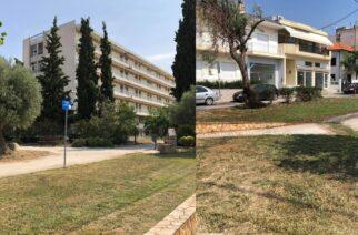 """Αλεξανδρούπολη: Παρεμβάσεις και εργασίες βελτίωσης του δήμου στο """"πάρκο Δήμητρας"""" (παλιό Νοσοκομείο)"""