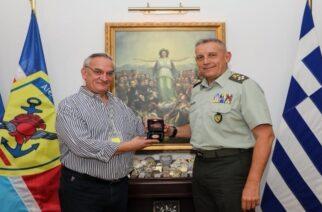 Συνάντηση Παναγιώτη Φαραντάτου, με τον Αρχηγό ΓΕΕΘΑ Κωνσταντίνο Φλώρο