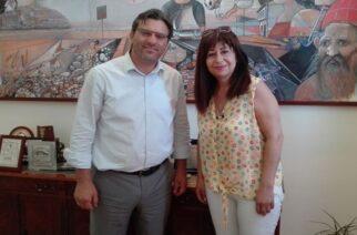 Αλεξανδρούπολη: Συνάντηση συνεργασίας της Αντιδημάρχου Ελένης Ιντζεπελίδου με το δήμαρχο Λήμνου