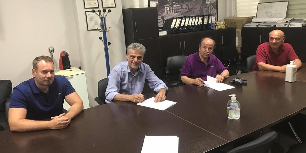 Υπογραφή σύμβασης έργου 1.054.000 ευρώ από τη ΔΕΥΑ Ορεστιάδας