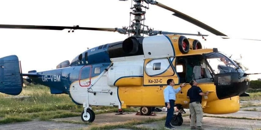 Μας θεωρούν χειρότερους απ' την… Ουγκάντα. Εκεί βρίσκεται ακόμα, αντί στον Έβρο, το πυροσβεστικό ελικόπτερο!!!