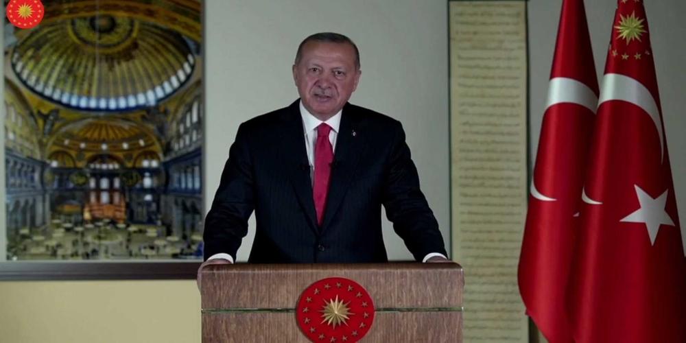 Ο Ερντογάν έκανε τζαμί την Αγιά Σοφιά και την ανοίγει για προσευχή στις 24 Ιουλίου