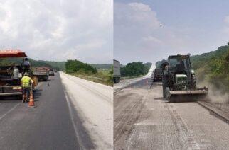 Συνεχίζονται τα έργα βελτίωσης του εθνικού οδικού δικτύου στον βόρειο Έβρο