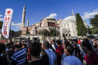 Έντονες παγκόσμιες αντιδράσεις για την Αγιά Σοφιά – Μητσοτάκης: Προσβάλλει όλη την Οικουμένη η μετατροπή σε τζαμί