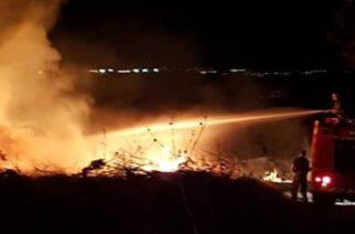 Αλεξανδρούπολη ΤΩΡΑ: Φωτιά κοντά στην παραλία, στο ύψος του Νοσοκομείου