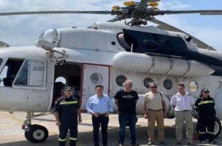Αλεξανδρούπολη: Έφτασε σήμερα το Πυροσβεστικό ελικόπτερο – Θράσος χιλίων πιθήκων ο ΣΥΡΙΖΑ Έβρου. Νομίζει πάθαμε… αλτσχάιμερ!!!