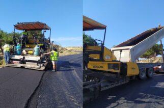 Σαμοθράκη: Συνεχίζεται εντατικά η ασφαλτόστρωση του οδικού δικτύου στο νησί (ΒΙΝΤΕΟ+φωτό)