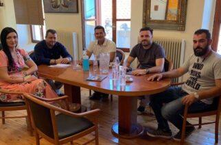 Σαμοθράκη: Επίσκεψη και συνεργασία του Αντιπεριφερειάρχη Τουρισμού ΑΜ-Θ, με την δημοτική αρχή