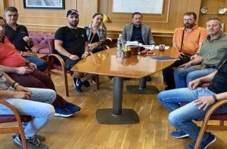 Συνάντηση εργασίας με τον δήμαρχο Αλεξανδρούπολης Γιάννη Ζαμπούκη είχε η νέα διοίκηση του ΟΦΘΑ