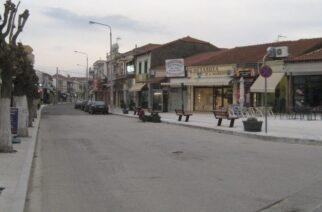Σουφλί: Πεζοδρομήθηκε από χθες για τις βραδινές ώρες το κέντρο της πόλης