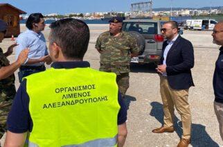 Έγινε η τελική πρόβα, για την πρώτη συνδυασμένη μεταφορά στρατιωτικού υλικού απ' το λιμάνι Αλεξανδρούπολης