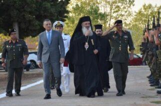 Την Αλεξανδρούπολη επισκέφθηκε χθες ο υφυπουργός Εθνικής Άμυνας Αλκιβιάδης Στεφανής