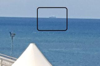 """Το αμερικανικό μεταγωγικό """"ENDURANCE"""" έφτασε στην Αλεξανδρούπολη. Μπαίνει τώρα στο λιμάνι"""