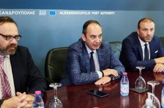 Πλακιωτάκης από Αλεξανδρούπολη: Δεν ξεπουλάμε το λιμάνι. Το νοικιάζουμε και αναπτύσσουμε τις δυνατότητες του