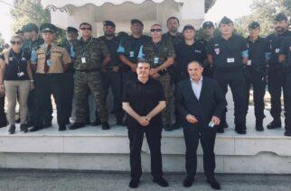 Στον Έβρο βρέθηκαν σήμερα Χρυσοχοίδης και ο Διευθυντής της FRONTEX, Fabrice Leggeri