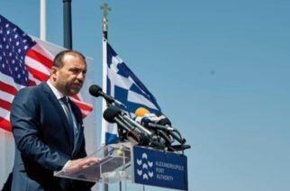 Χατζημιχαήλ: Ιστορική η σημερινή ημέρα για το λιμάνι Αλεξανδρούπολης και την περιοχή