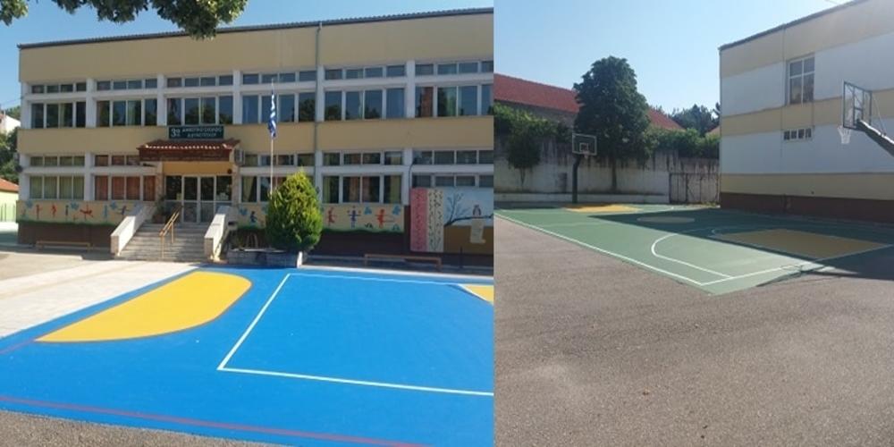 """Διδυμότειχο: Ομόρφυνε το 3ο Δημοτικό Σχολείο, με προσφορά της Ένωσης """"Μαζί για το Παιδί"""""""