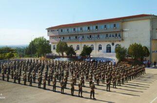 Αγιασμός σήμερα για τους νέους Συνοριοφύλακες στην Σχολή Αστυφυλάκων Διδυμοτείχου (ΒΙΝΤΕΟ+φωτό)