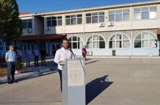 """Δερμεντζόπουλος στον χθεσινό αγιασμό: """"Είμαστε πολύ περήφανοι για τους νέους Συνοριοφύλακες"""""""