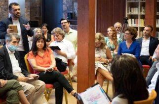 """Αλεξανδρούπολη: Συνάντηση σωματείου """"Εκκίνηση"""" με την Επιτροπή του «Ελλάδα 2021» για παραγωγή ιστορικής ταινίας"""