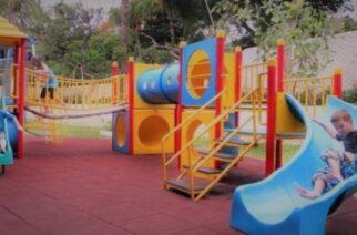 Αλεξανδρούπολη: Εργασίες αντικατάστασης οργάνων και τοποθέτησης δαπέδου ασφαλείας στις παιδικές χαρές