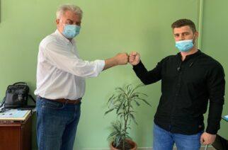 """Δωρεά της γαλακτοβιομηχανίας """"ΕΒΡΟΦΑΡΜΑ"""" στο Νοσοκομείο Διδυμοτείχου"""
