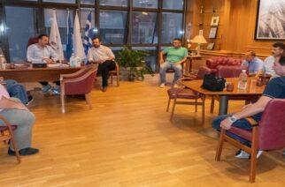 Συνάντηση του Δημάρχου Αλεξανδρούπολης με το Δ.Σ. του σωματείου εμπόρων πωλητών λαϊκών αγορών Ν. Έβρου