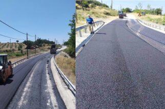 Σαμοθράκη: Ξεκίνησαν οι ασφαλτοστρώσεις στο οδικό δίκτυο του νησιού