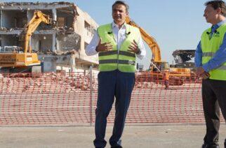 Παρουσία του Πρωθυπουργού άρχισαν τα έργα στο Ελληνικό – Θα φέρουν 80.000 θέσεις εργασίας