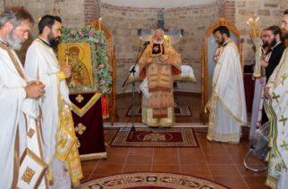 Εγκαίνια Ιερού Ναού Αγίου Νεκταρίου στο Αμόριο, από τον Σεβασμιότατο Μητροπολίτη κ.Δαμασκηνό (φωτορεπορτάζ)