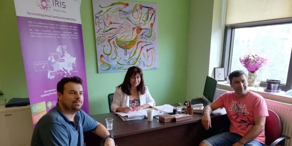 Αλεξανδρούπολη: Συνάντηση εργασίας στο πλαίσιο του Ευρωπαϊκού Προγράμματος «IRIS-Smart Cities» στο οποίο συμμετέχει ο δήμος