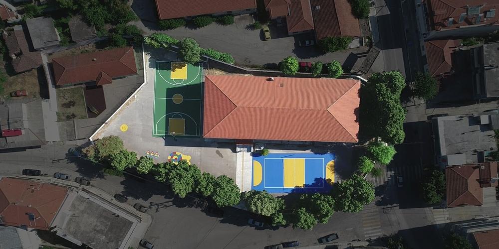 Διδυμότειχο: Η Ένωση «Μαζί για το Παιδί» ανακατασκεύασε δύο γήπεδα στο 3ο Δημοτικό Σχολείο