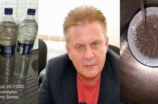 Τσελεμπής: Βρώμικο νερό στη Ν.Βύσσα; Φταίνε τα… σκόρδα – Έλλειψη στο Ορμένιο; Η… ΔΕΗ, όχι εμείς