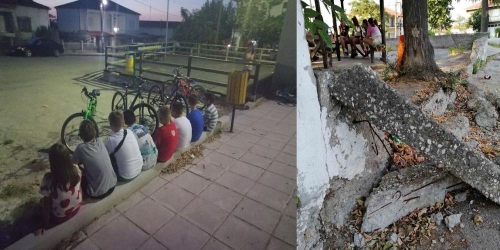 Ορεστιάδα: Χωρίς παιδική χαρά έμειναν τα πολλά παιδιά της Πτελέας – Την πάνε εκτός χωριού;