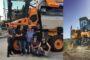 Παράδοση 2 αυτοκινούμενων τρυγητικών μηχανών Optimumτης Pellenc απ' την Agrotech S.A.