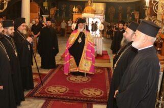 Ο εορτασμός της Κοιμήσεως της Θεοτόκου από τον Μητροπολίτη Διδυμοτείχου, Ορεστιάδας και Σουφλίου κ.Δαμασκηνό