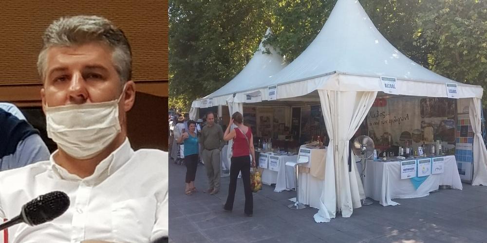 Τοψίδης: Αυτοφιμώθηκε και δεν απαντάει για το πληρωμένο απ' το Επιμελητήριο αχρείαστο 3ήμερο ταξίδι στην Αθήνα