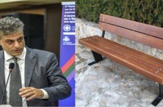 Μαυρίδης: Απ' ευθείας αναθέσεις 25.000 ευρώ Ιούλιο-Αύγουστο για παγκάκια, έπιπλα, ξυλεία στον ίδιο προμηθευτή