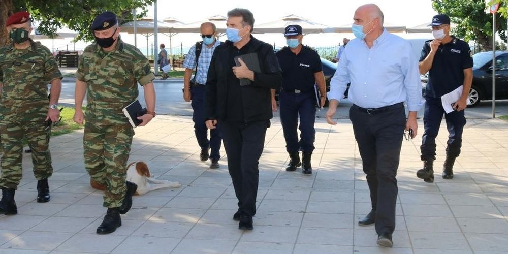 Αλεξανδρούπολη: Διπλή ενημέρωση από τον Μ.Χρυσοχοίδη για το νέο φράχτη του Έβρου